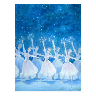 Dance of the Snowflakes Postcard