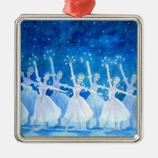 Dance of the Snowflakes Premium Ornament