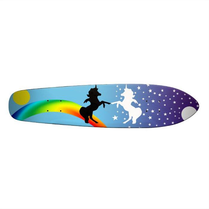"""Dance of the unicorns"" Custom Skateboard"