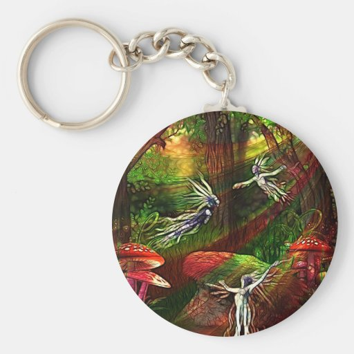 Dance of the Water Sprite Key Chains