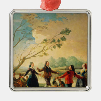 Dance on the Banks of the River Manzanares, 1777 Christmas Ornament