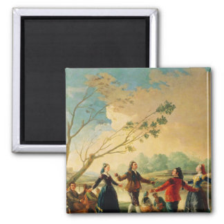 Dance on the Banks of the River Manzanares, 1777 Fridge Magnets
