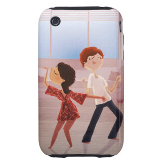 Dance Party iPhone case iPhone 3 Tough Cases