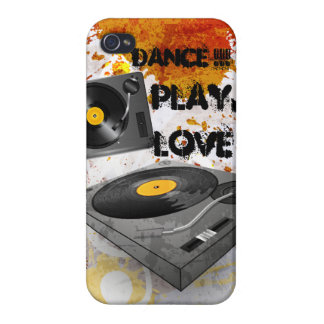 Dance play love Iphone Cover iPhone 4 Cases