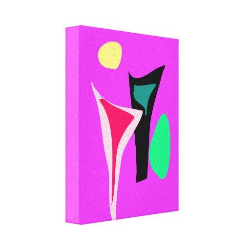 Dance Purple Canvas Prints