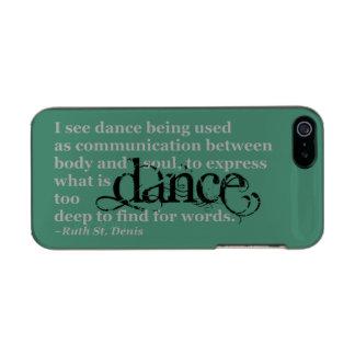 Dance Quote Incipio Feather® Shine iPhone 5 Case