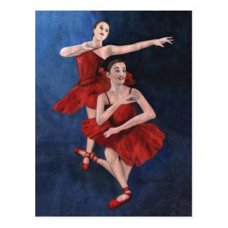 Dance Recital Invitation Post Card