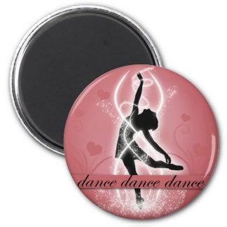 Dance Refrigerator Magnet