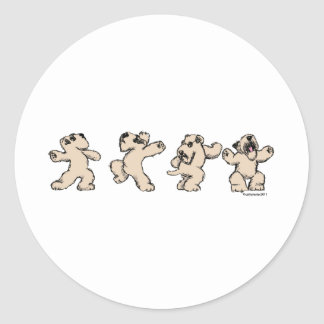 Dance SCWT Classic Round Sticker