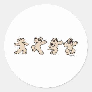 Dance SCWT Round Sticker