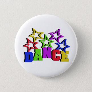 Dance Stars 6 Cm Round Badge