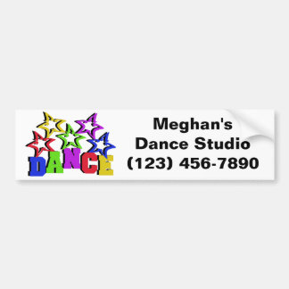 Dance Stars Bumper Sticker