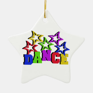 Dance Stars Christmas Ornament