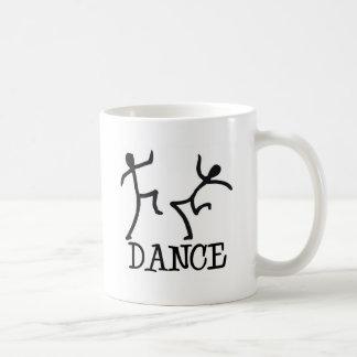 Dance Stick Figures Basic White Mug