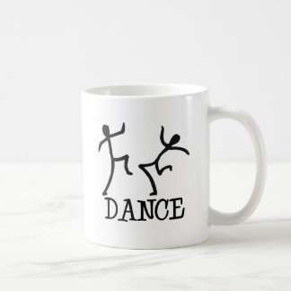 Dance Stick Figures Coffee Mug