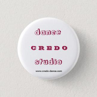 Dance studio CREDO 3 Cm Round Badge