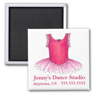 Dance Studio Pink Ballet Ballerina Tutu Magnet
