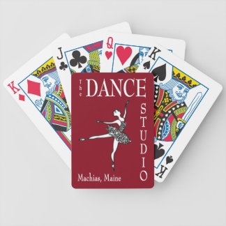 DANCE STUDIO playing cards