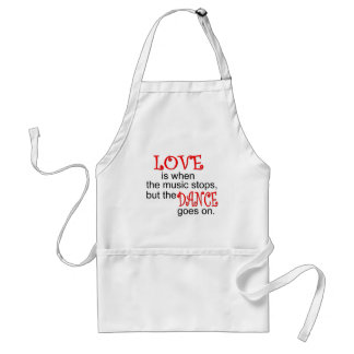 Dance T-shirts and Gifts. Standard Apron