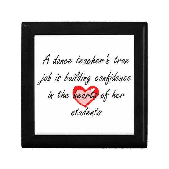 Dance Teacher - Building Cofidence Gift Box