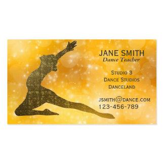 Dance Teacher Dance Instructor modern stylish Business Card Template
