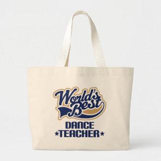 Dance Teacher Gift Tote Bags