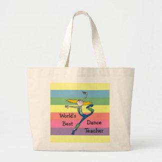 Dance Teacher gift Jumbo Tote Bag