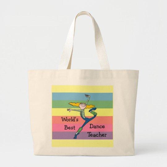 Dance Teacher gift Large Tote Bag