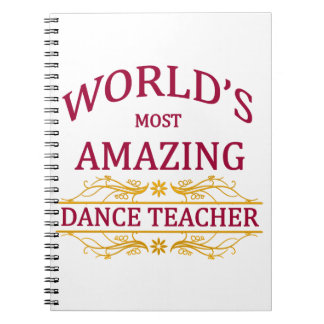 Dance Teacher Notebooks