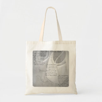 Dance Teacher Poem Tote Bag