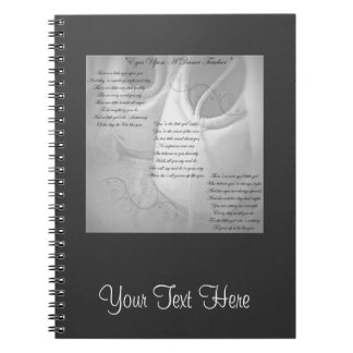 Dance Teacher Poem Notebooks