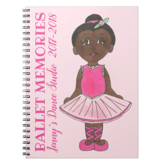 Dance Teacher Studio Recital Ballet Memories Notebook