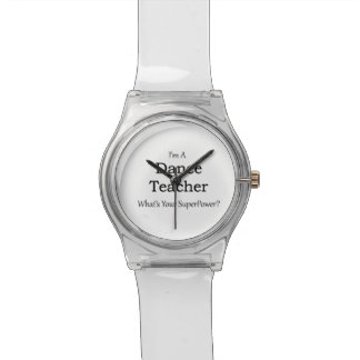 Dance Teacher Wristwatch