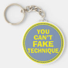 Dance Technique Dancer Can't Fake It Dance class Key Ring