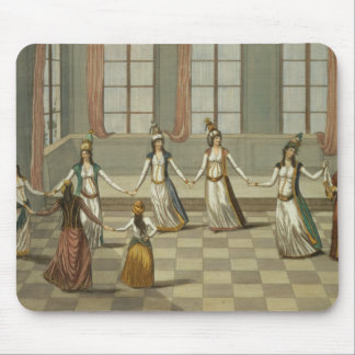 Dance that is fashionable with the Greek women of Mouse Mat