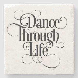 Dance Through Life Stone Coaster
