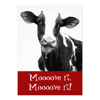Dance til the Cows Come Home - Bachelorette Party Invitations