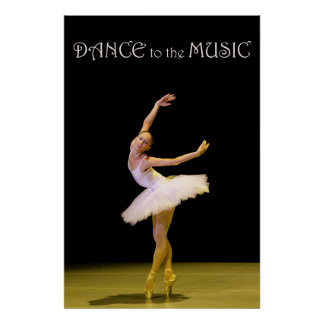 Dance to the Music 36 x 24 Poster