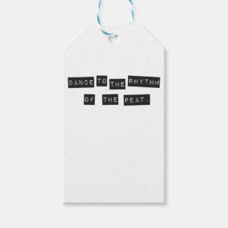 Dance to the Rhythm of the Peat Gift Tags