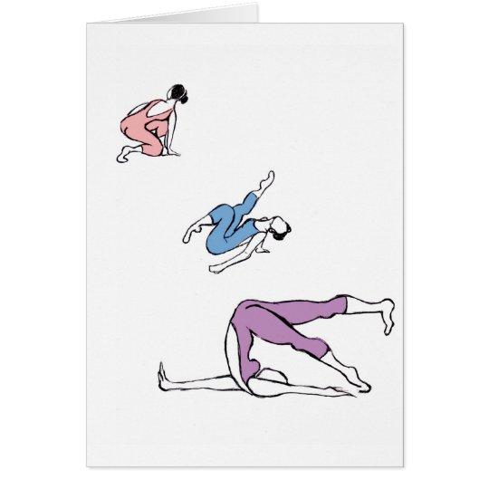 Dance Trio Card