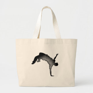 Dance True Large Tote Bag