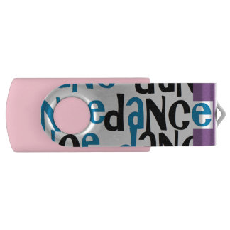 Dance USB 3.0 Flash Drive Pink Swivel