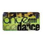 Dance; Vibrant Green, Orange, & Yellow iPod Touch 5G Case