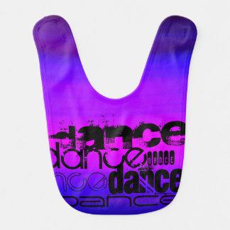 Dance; Vibrant Violet Blue and Magenta Bibs