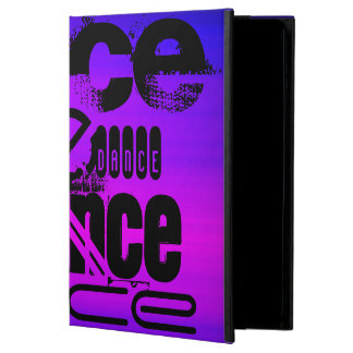 Dance; Vibrant Violet Blue and Magenta iPad Air Cover