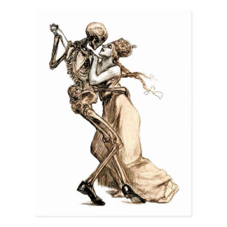 Dance with Death postcard