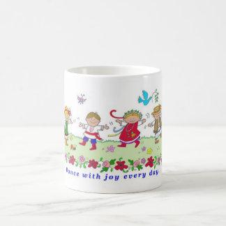 Dance with Joy Basic White Mug