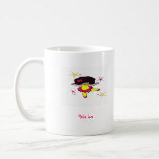 Dance With me Ballerina Classic White Coffee Mug