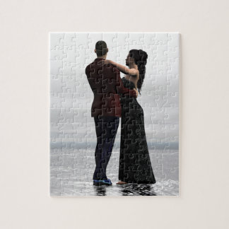 """Dance With Me"" Dancing Couple Jigsaw Puzzle"