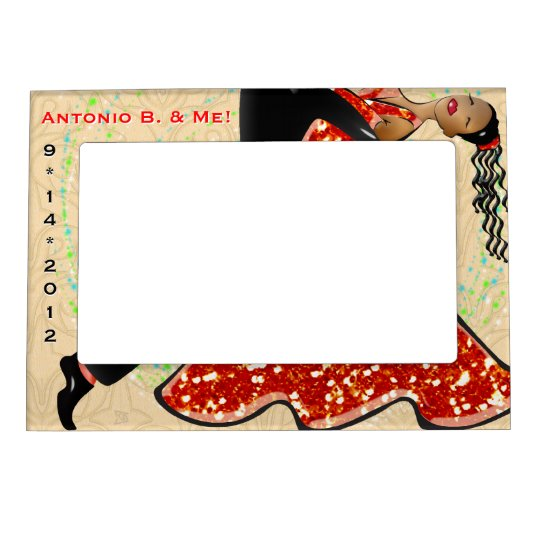 Dance With Me (Personalised) Magnetic Frame